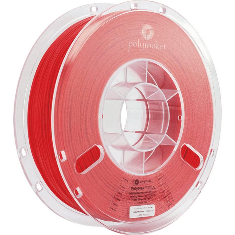 Polymaker 70153 PolyMax 3D-skrivare Filament PLA-plast 1.75 mm 750 g Röd PolyMax 1 st