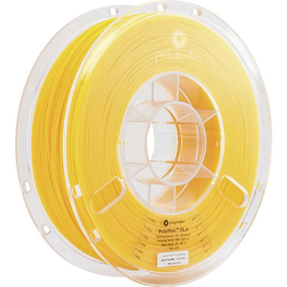 Polymaker 70155 PolyMax 3D-skrivare Filament PLA-plast 1.75 mm 750 g Gul PolyMax 1 st
