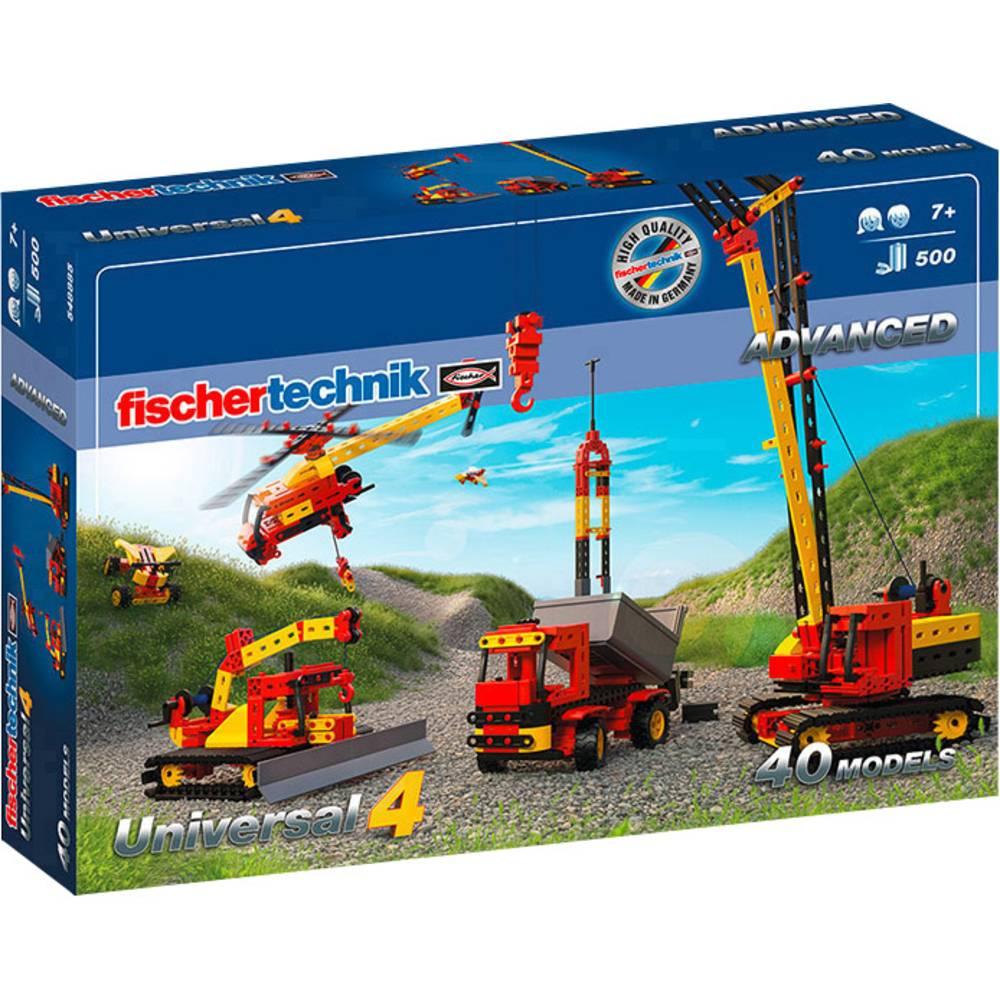 fischertechnik 548885 ADVANCED Universal 4 Byggsats från 7 år