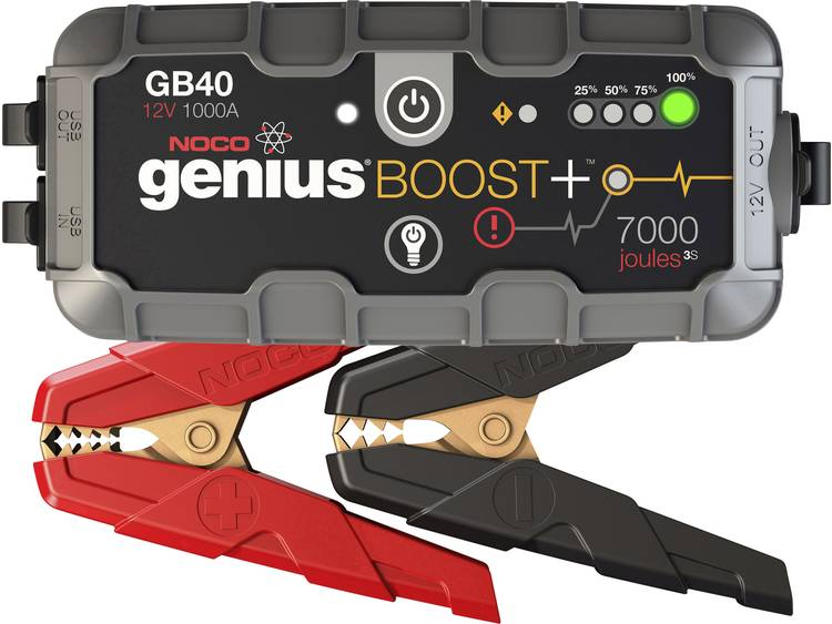 Noco Genius Booster acculader 12 V 1000 A GB40