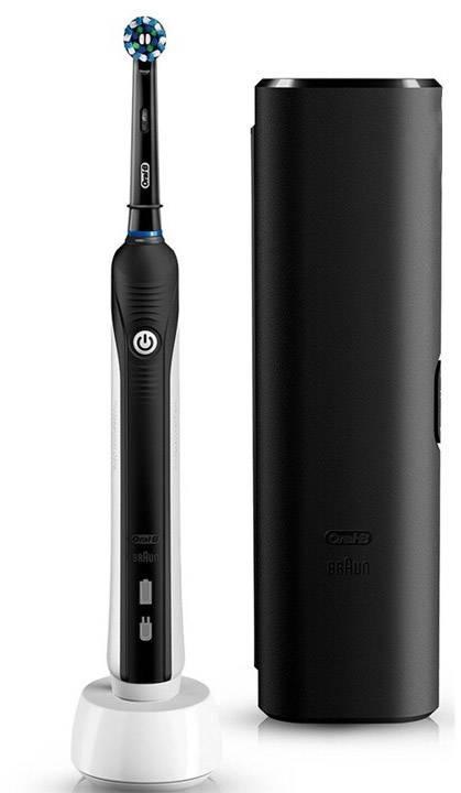 Oral B Pro 2 2500 Crossaction Black Design Elektrische Tandenborstel Roterend Oscillerend Pulserend Zwart Conrad Nl