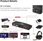 Club3D USB 3.1 Gen 1 UHD 4K dockingstation