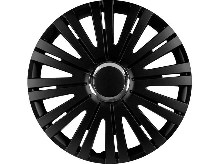 IWH 076011 Wieldoppen R16 Zwart, Chroom 1 stuks