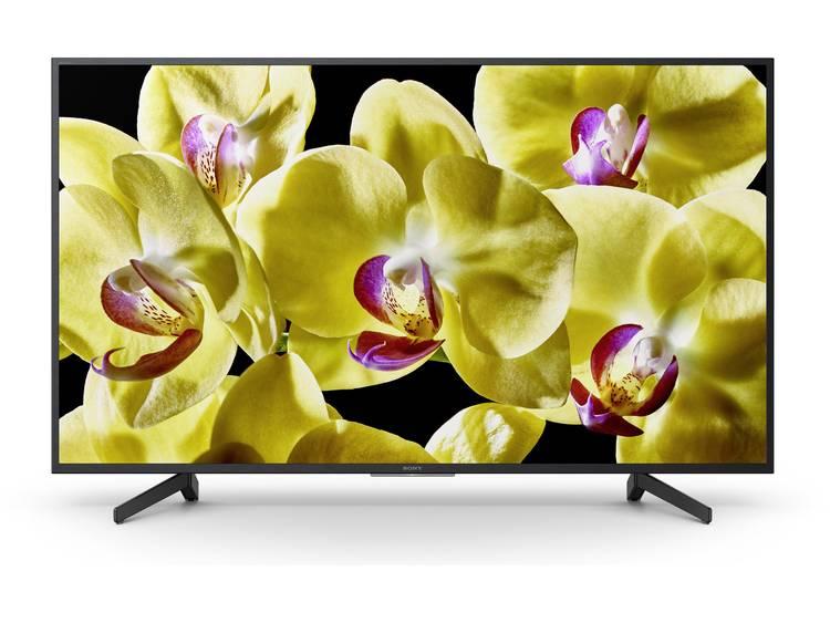Sony BRAVIA KD55XG8096 LED-TV 139 cm 55 inch Energielabel: A (A++ – E) DVB-T2, DVB-C, DVB-S2, UHD, Smart TV, WiFi, PVR ready Zwart