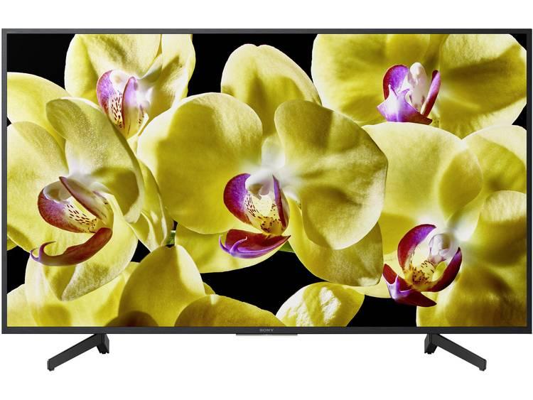 Sony BRAVIA KD65XG8096 LED-TV 164 cm 65 inch Energielabel: A (A++ – E) DVB-T2, DVB-C, DVB-S2, UHD, Smart TV, WiFi, PVR ready Zwart