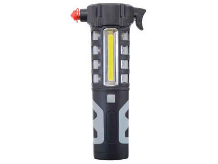 Ruithamer Shada 700321 LED noodlicht rood, Magneethouder, Riemsnijder, LED licht, Zaklampfunctie Auto, Vrachtwagen, SUV, Van, Camper, Bus (l x b x h) 194 x 95