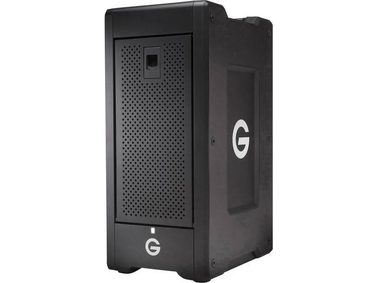 G-Technology G-SPEED Shuttle XL 64 TB Extern multi-disk systeem Thunderbolt 3 Zwart