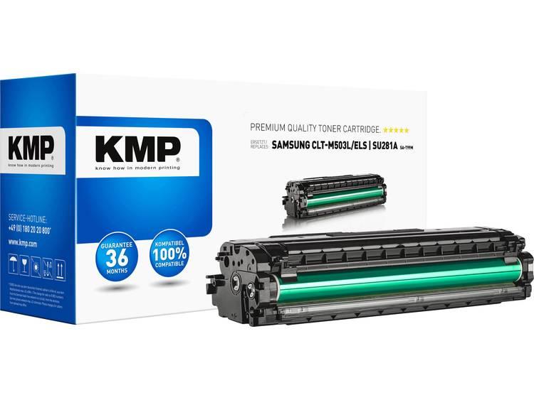 KMP Tonercassette vervangt Samsung CLT M503L Compatibel Magenta 5000 bladzijden