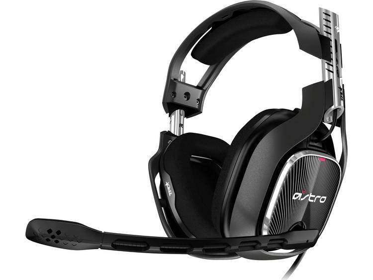 Astro Gaming A40 TR Gaming headset 3.5 mm jackplug Kabelgebonden Over Ear Zwart, Rood