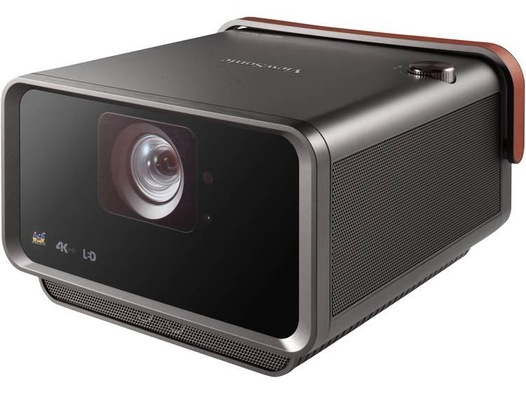 Viewsonic Beamer X10-4K LED Helderheid: 2400 lm 3840 x 2160 UHD 3000000 : 1 Zwart, Bruin