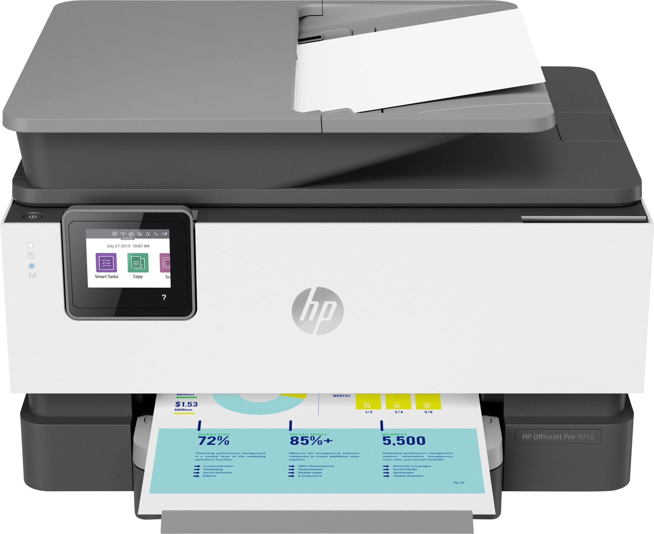 Hp Officejet Pro 9010 All In One Basalt Multifunctionele Inkjetprinter Printen Scannen Kopiëren Faxen Lan Wifi Dupl
