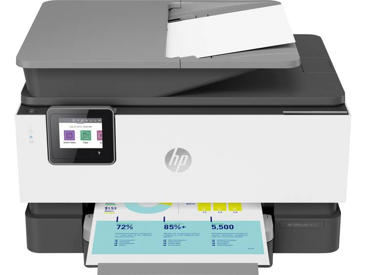 HP OfficeJet Pro 9012 All-in-One Basalt Multifunctionele inkjetprinter Printen, Scannen, Kopiëren,