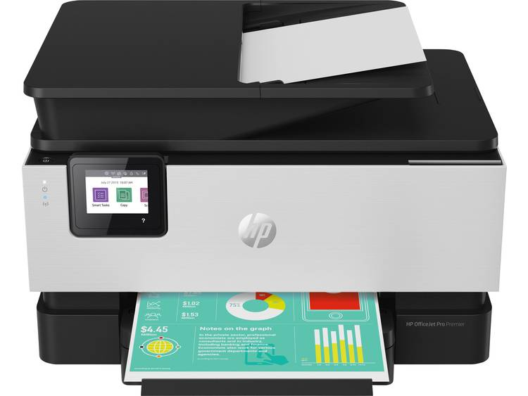HP Officejet Pro 9019 All-in-One Premium Aluminium Multifunctionele inkjetprinter Printen, Scannen,