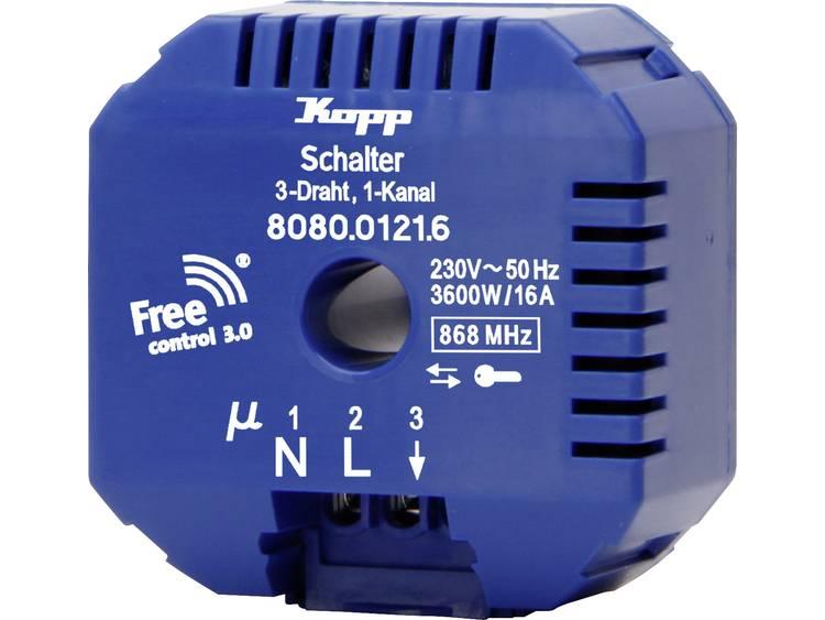 Kopp Free Control Draadloze ontvanger Free Control 3.0 1-kanaals