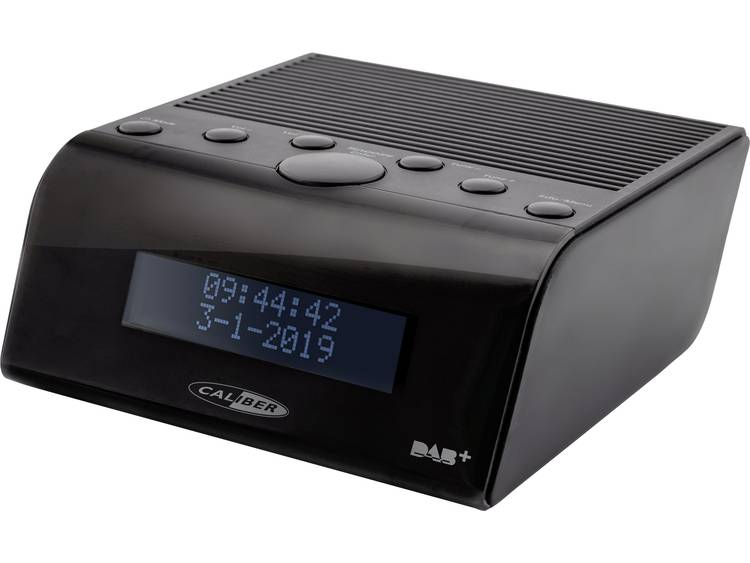 Caliber Audio Technology HCG011DAB Wekkerradio DAB+, FM Zwart