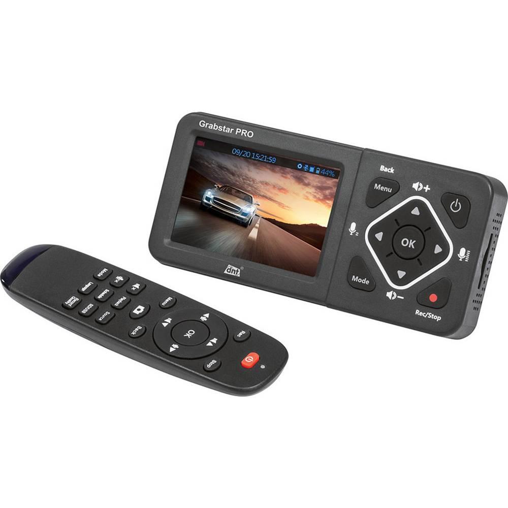 dnt Grabstar PRO Video Grabber Live-kommentar-funktion, Livestream-funktion, Full-HD-upplösning, Plug & Play