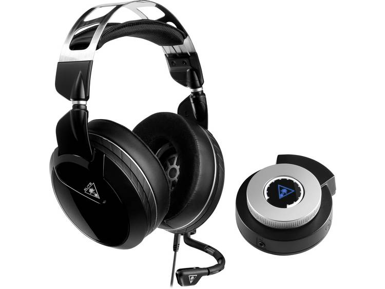 Turtle Beach Elite Pro2 Gaming headset 3.5 mm jackplug, Bluetooth Kabelgebonden Over Ear Wit, Zwart