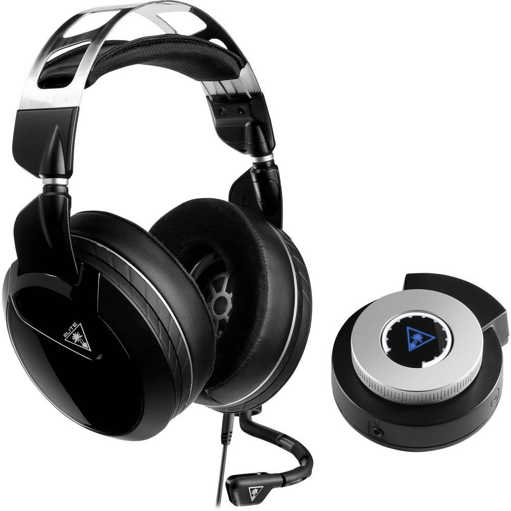 Turtle Beach Elite Pro2 Gaming-headset 3,5 mm teleplugg, Bluetooth Sladd Over Ear Vit, Svart