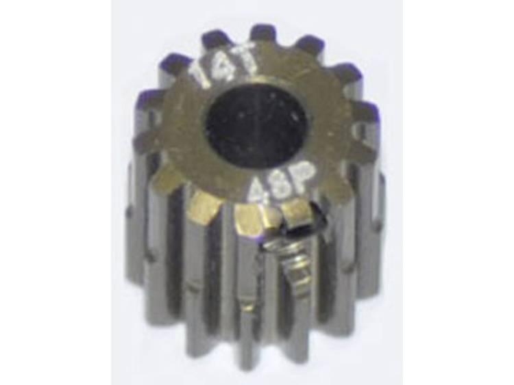 ArrowMax Motorrondsel Soort module: 48 DP Boordiameter: 3.175 mm Aantal tanden: 14