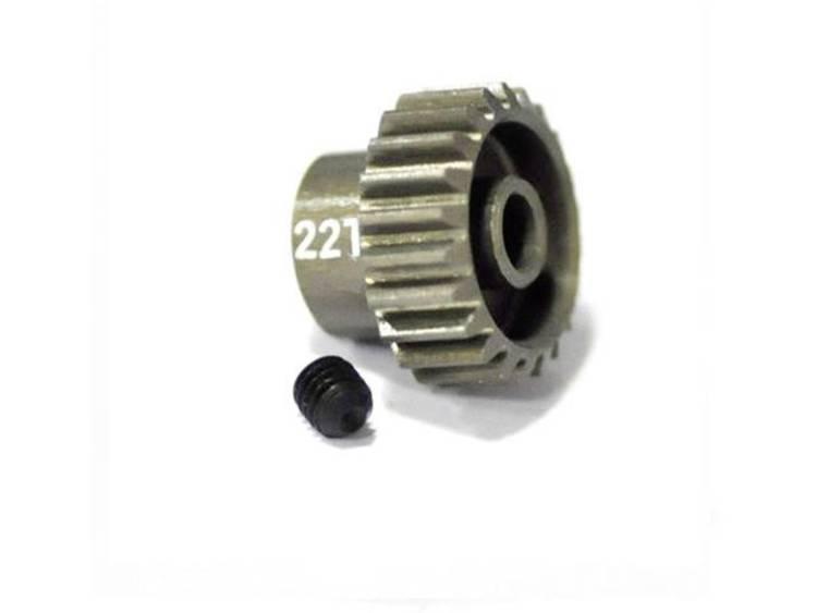 ArrowMax Motorrondsel Soort module: 48 DP Boordiameter: 3.175 mm Aantal tanden: 22