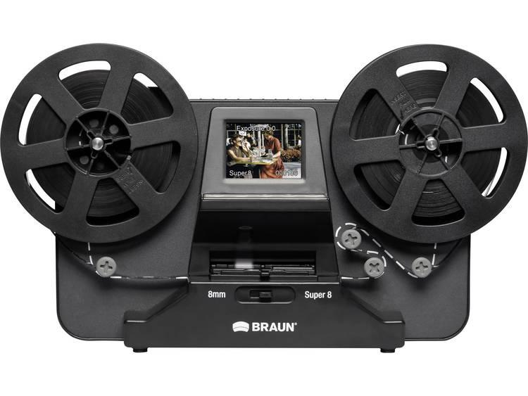 Braun Germany NovoScan Super 8 Normal 8 Filmscanner 1440 x 1080 pix Super 8 films, Dubbel 8 films, T