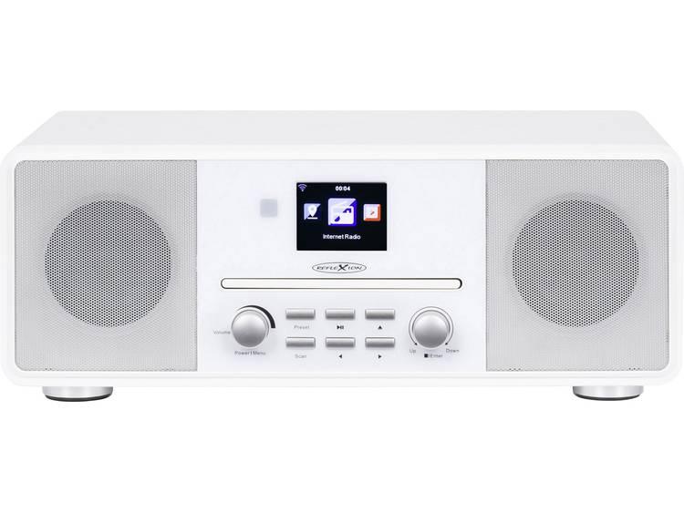 Reflexion HRA19INT/WH Tafelradio met internetradio DAB+, FM AUX, Bluetooth, CD,