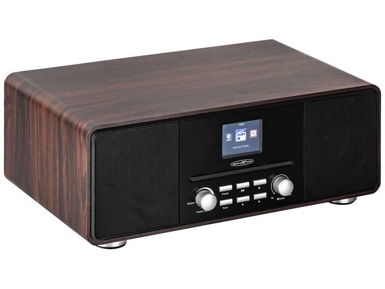 Reflexion HRA19INT/WD Tafelradio met internetradio DAB+, FM AUX, Bluetooth, CD,