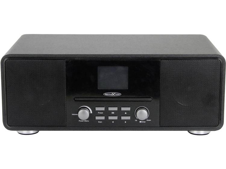 Reflexion HRA19DAB/BK Tafelradio DAB+, FM AUX, Bluetooth, CD Zwart