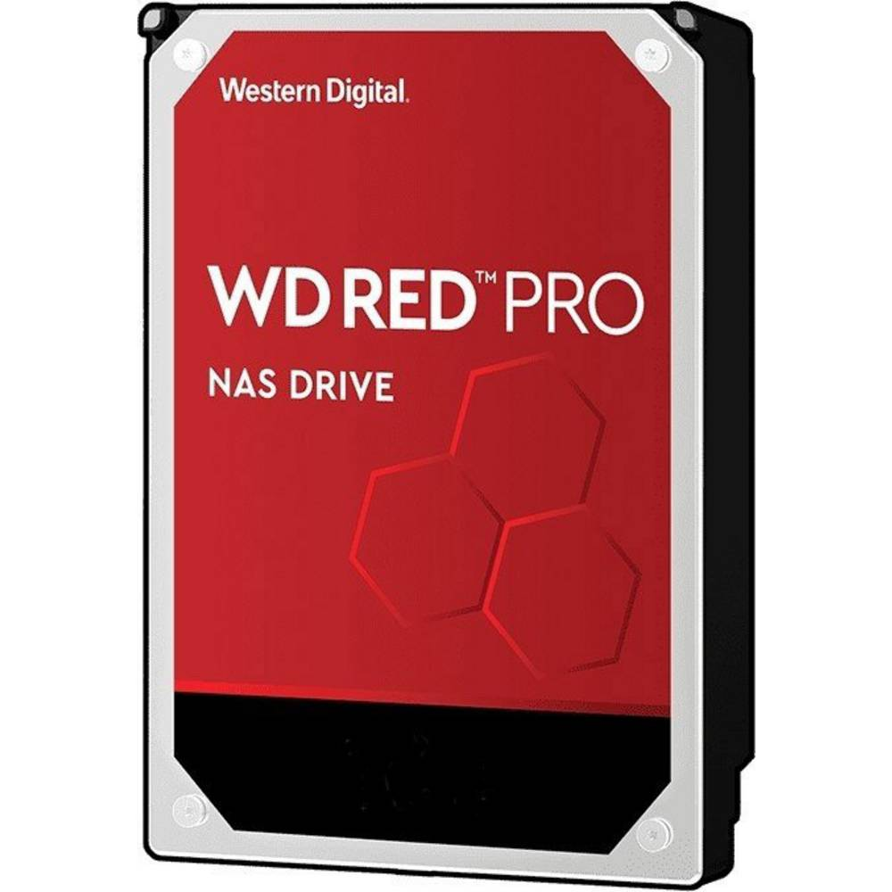 Western Digital WD Red™ Pro 12 TB Hårddisk 3.5 SATA 6 Gb/s WD121KFBX Bulk