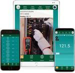 Digitale multimeter met Bluetooth®