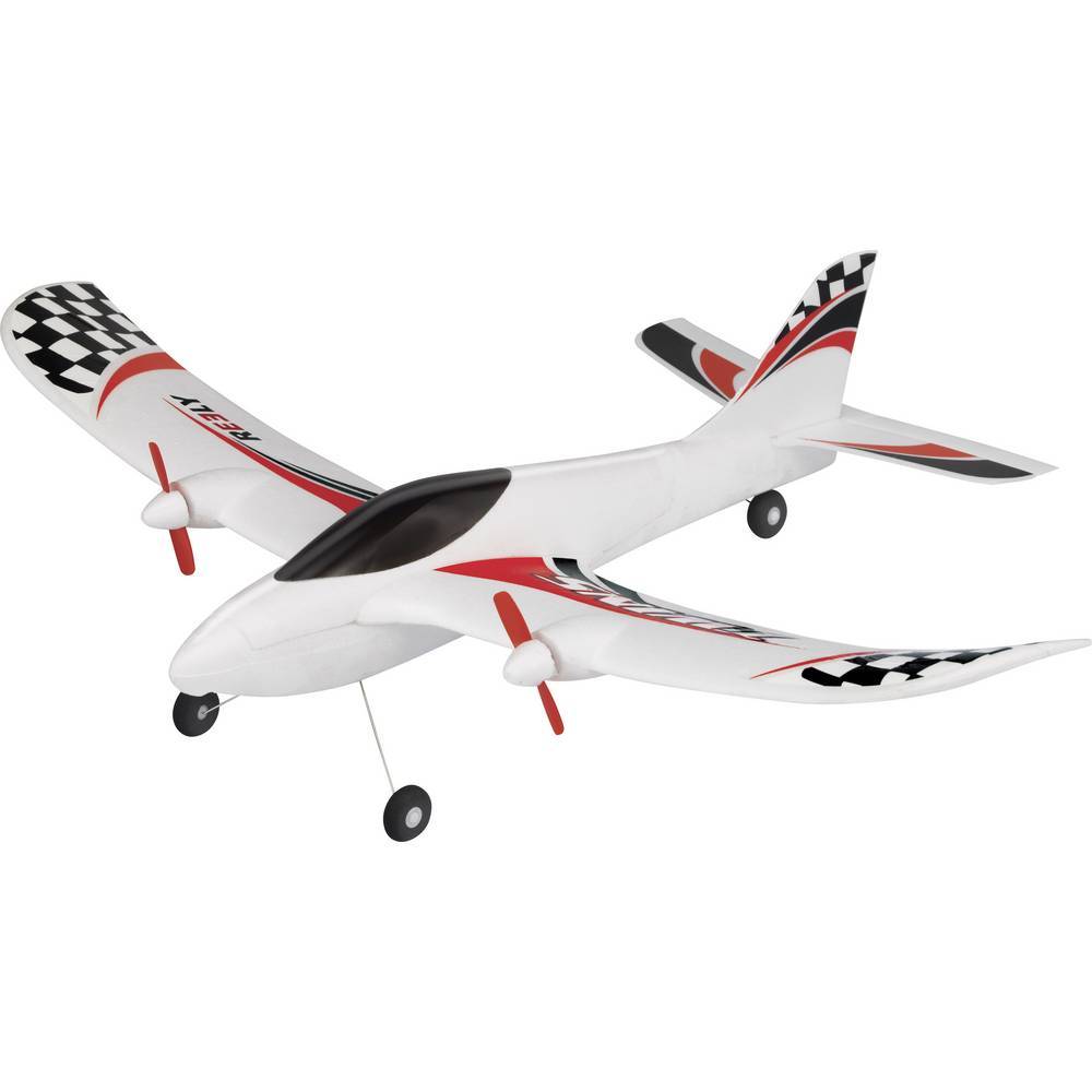 Reely TWINS RC Modellflyg nybörjare RtF 520 mm