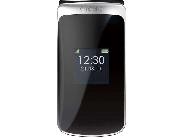 Emporia Touchsmart Senioren clamshell telefoon Laadstation, SOS-knop Zwart kopen