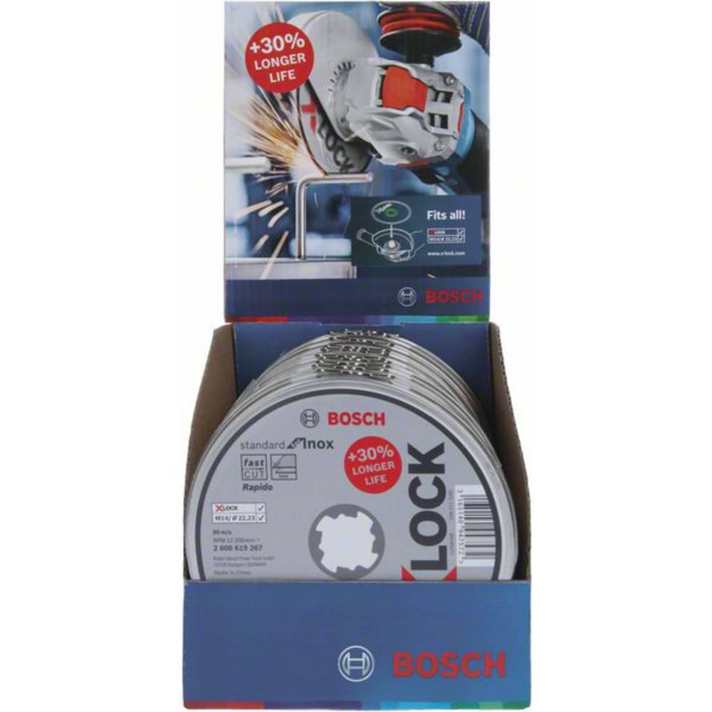 X-LOCK Slijpschijfblik 10x Standard for Inox 10x125x1x22.23mm, recht