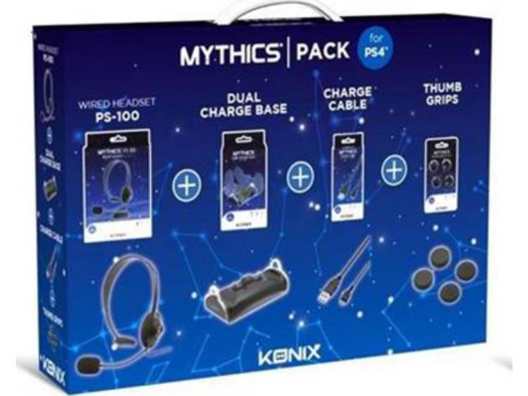 Accessoireset PlayStation 4 Mythics Accessories Pack