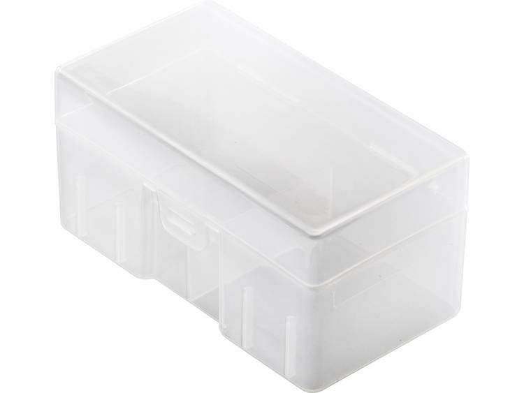 Basetech C8-PK PP Batterijbox Aantal cellen: 8 C (baby) (l x b x h) 108 x 60 x 55 mm