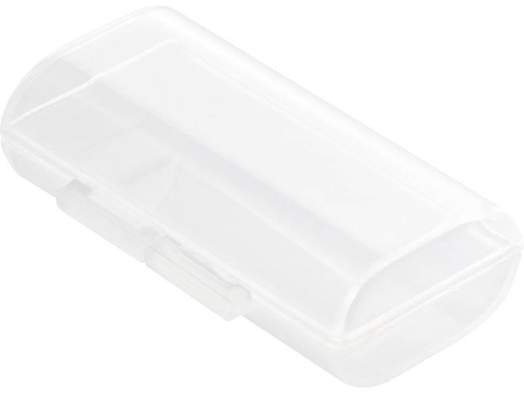 Basetech BT-Box-002 Batterijbox Aantal cellen: 2 AAA (potlood), 10440 (l x b x h) 47.3 x 28.2 x 14 mm