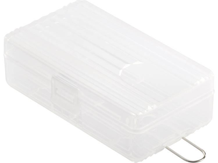 Basetech BT-Box-016 Batterijbox Aantal cellen: 2 18650 (l x b x h) 74 x 44.6 x 22.2 mm