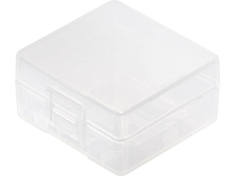 Basetech BT-Box-022 Batterijbox Aantal cellen: 2 18350 (l x b x h) 43.5 x 41.8 x 22.1 mm