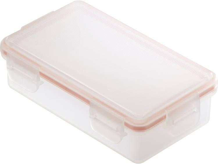 Basetech BT-Box-020 Batterijbox Aantal cellen: 2 18650 (l x b x h) 84 x 48 x 24 mm