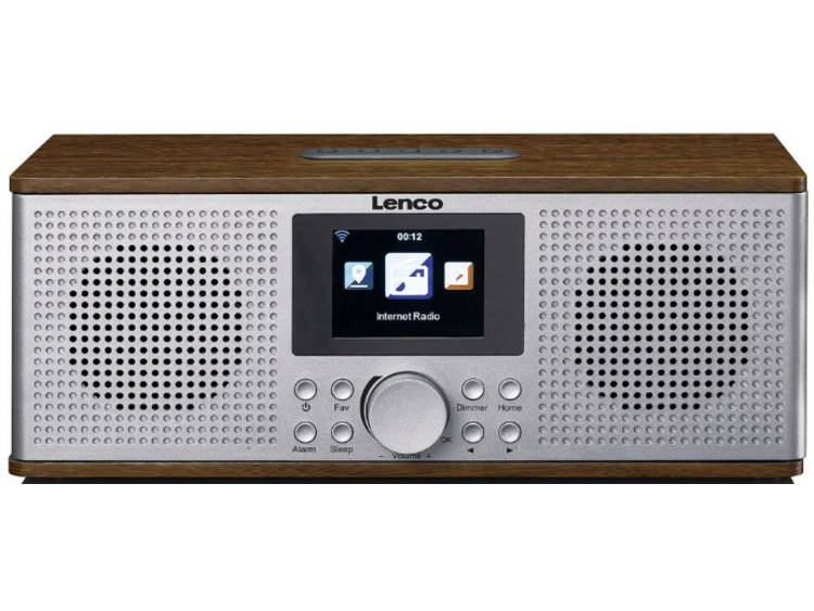Lenco DIR-170 Tafelradio met internetradio DAB+, FM AUX, Bluetooth, USB, Interne
