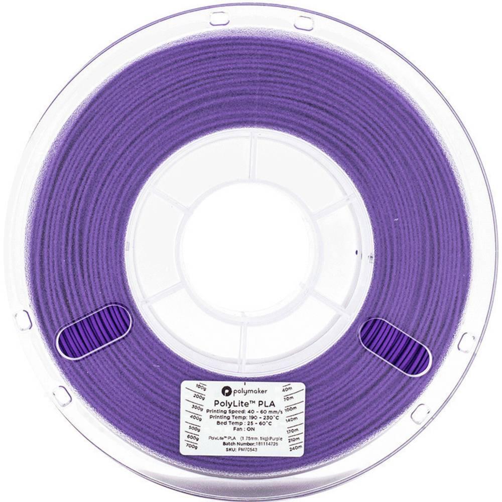 Polymaker 70544 3D-skrivare Filament PLA-plast 2.85 mm 1 kg Violett PolyLite 1 st
