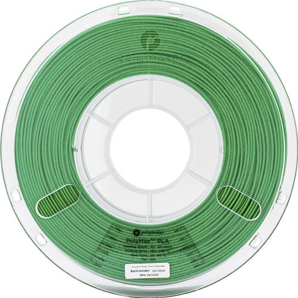 Polymaker 70483 PolyMax 3D-skrivare Filament PLA-plast 2.85 mm 750 g Grön PolyMax 1 st