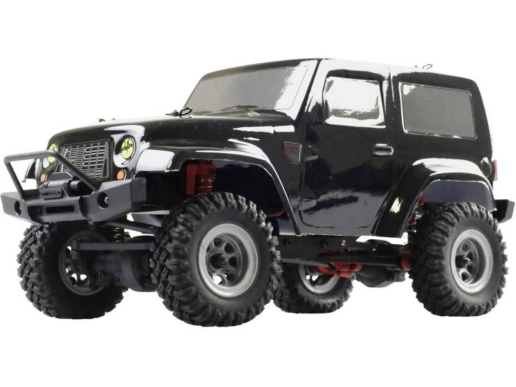Amewi AM24 Ranger 1:24 Brushed RC auto Elektro Crawler 4WD RTR 2,4 GHz Incl. accu en lader