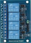 Makerfactory 4-kanaals relaismodule