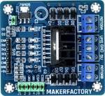 Makerfactory L298N Dual-H-brug driver-module voor stappenmotor