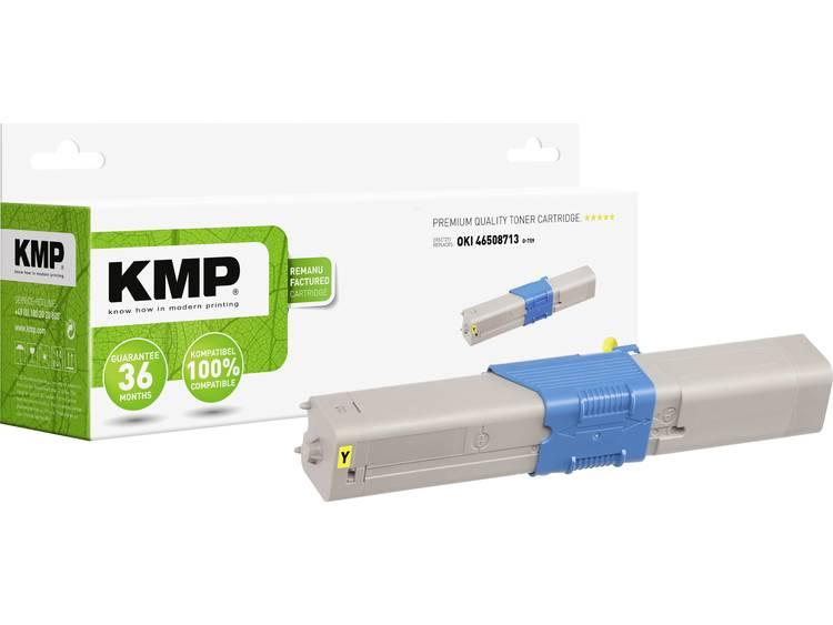 KMP Tonercassette vervangt OKI 46508713 Compatibel Geel 1500 bladzijden O T59