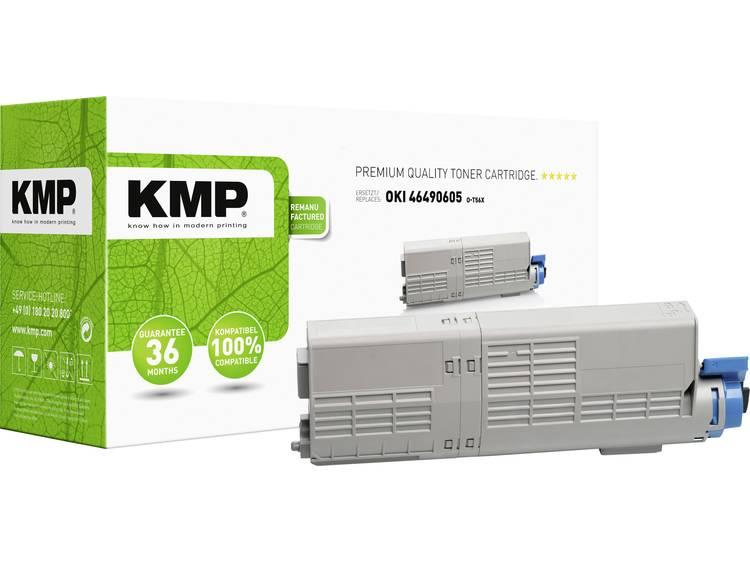 KMP Tonercassette vervangt OKI 46490605 Compatibel Geel 6000 bladzijden O T56X