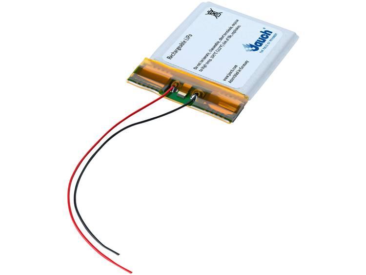 Jauch Quartz LP443441JU Speciale oplaadbare batterij Prismatisch Kabel LiPo 3.7 V 650 mAh