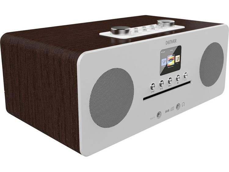 Denver MIR-260 Tafelradio met internetradio DAB+, FM AUX, Bluetooth, CD, NFC, In