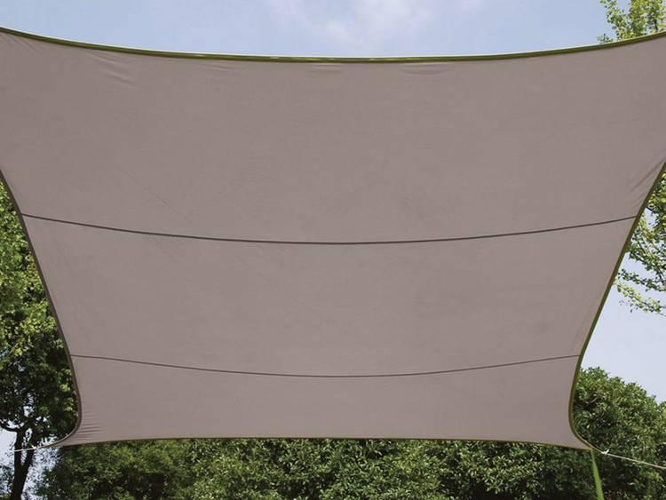 Zonnezeil Vierkant 3.6 X 3.6 M Kleur: Taupe